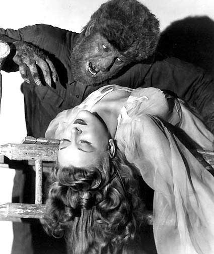 Chaney as Wolfman