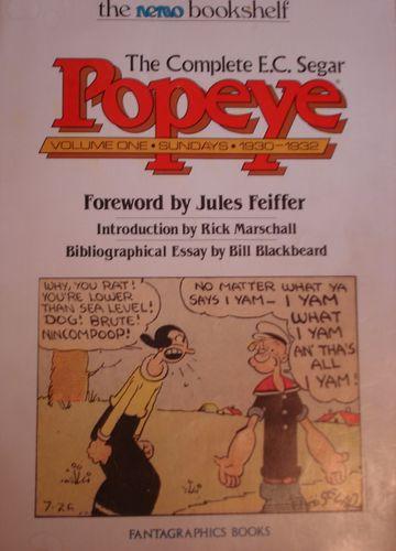 Popeye comics