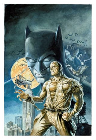 Batman Doc Savage